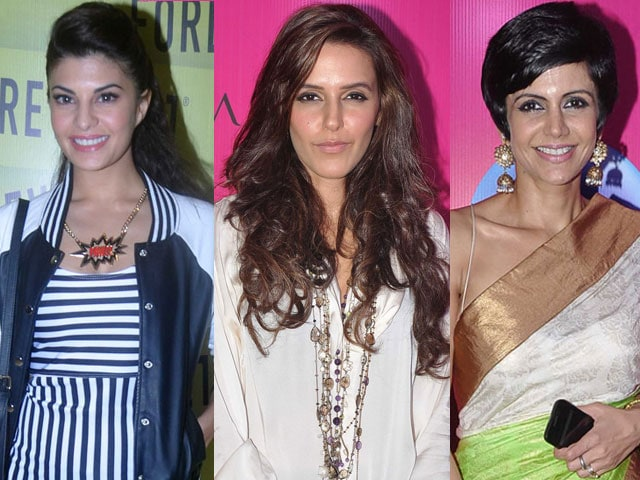 Fashion fever: Jacqueline, Neha, Mandira