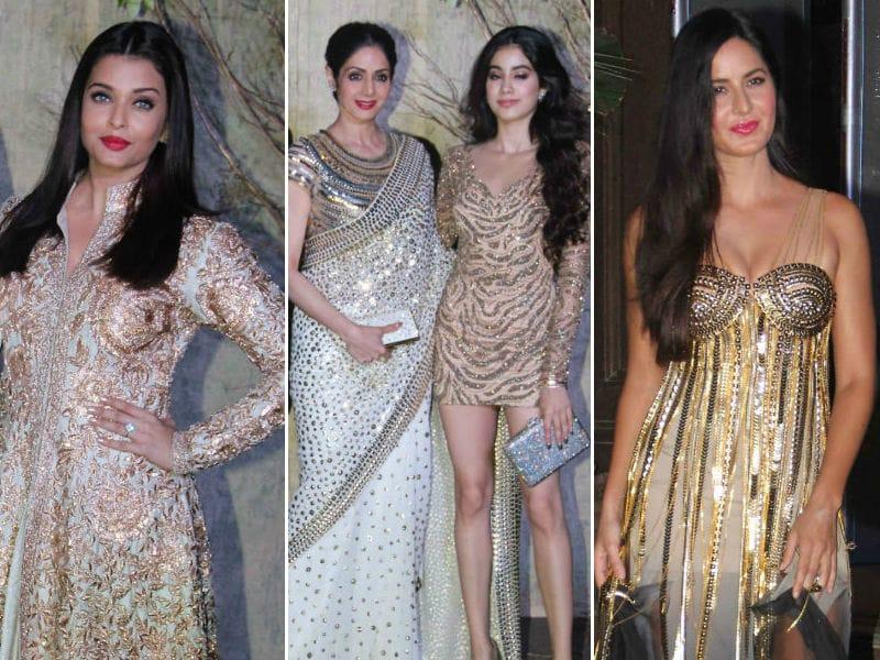 About Last Night: Aishwarya, Sridevi, Katrina, Alia Glitter At Manish Malhotra's Party