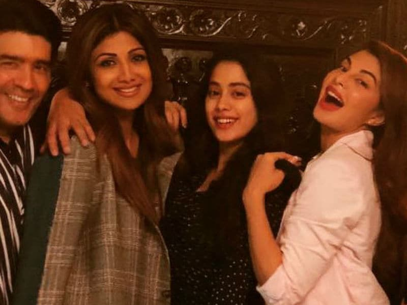 Janhvi, Jacqueline At Manish Malhotra's Party. See Inside Pics