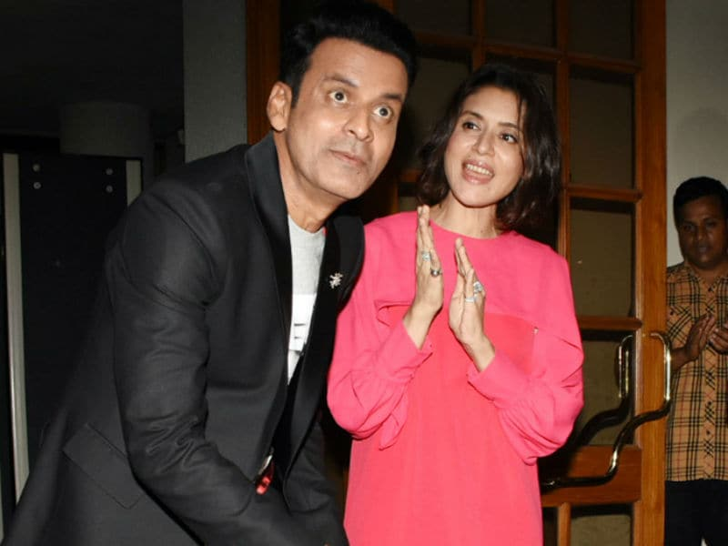 Inside Manoj Bajpayee's Birthday Bash With Tabu And Others