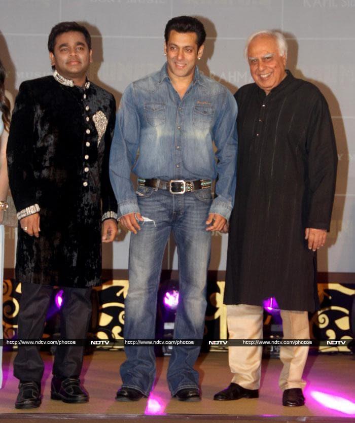 Salman, Rahman and a politician\'s Raunaq