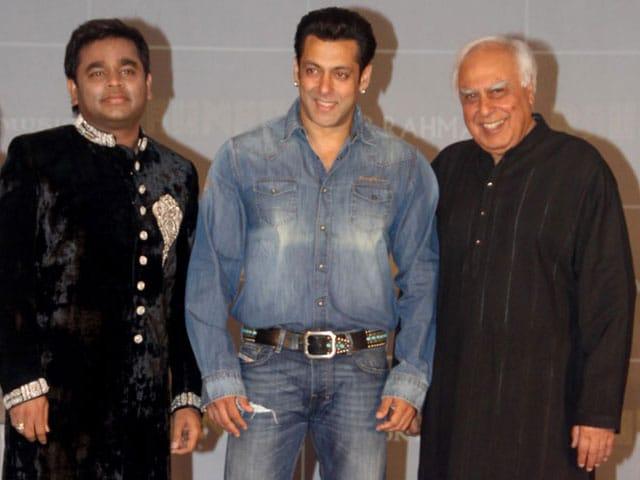 Salman, Rahman and a politician's Raunaq