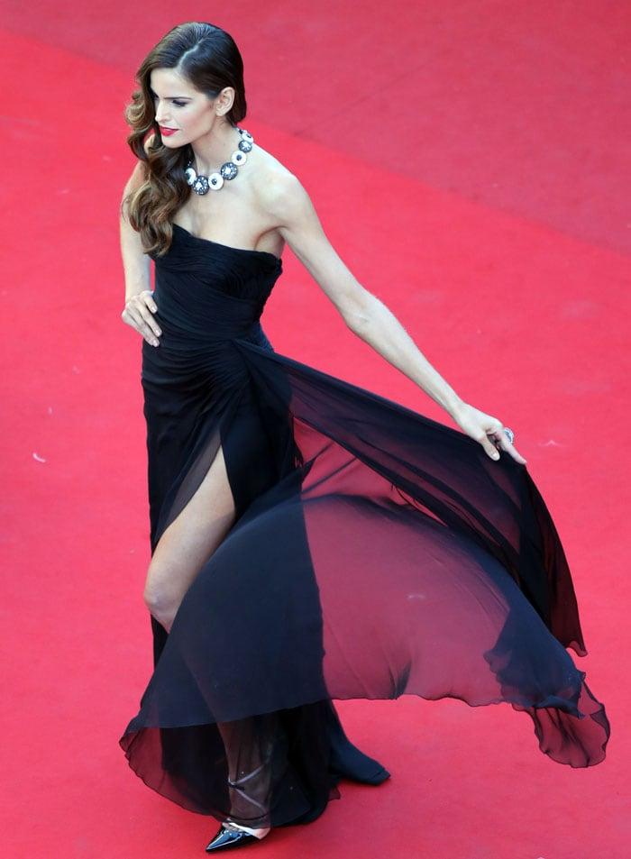 Yin and yang at Cannes: Marion, Uma