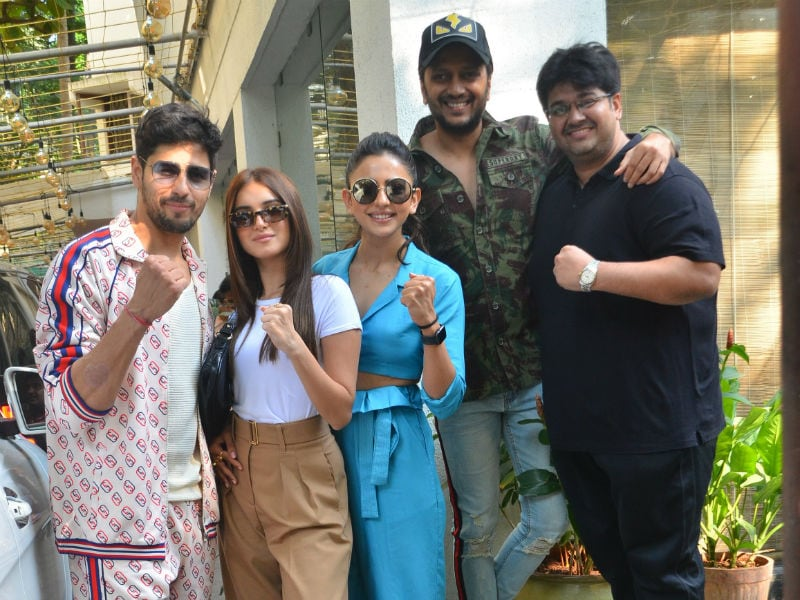 Marjaavaan Promotions Are Keeping Tara, Rakul Preet, Sidharth And Riteish Busy