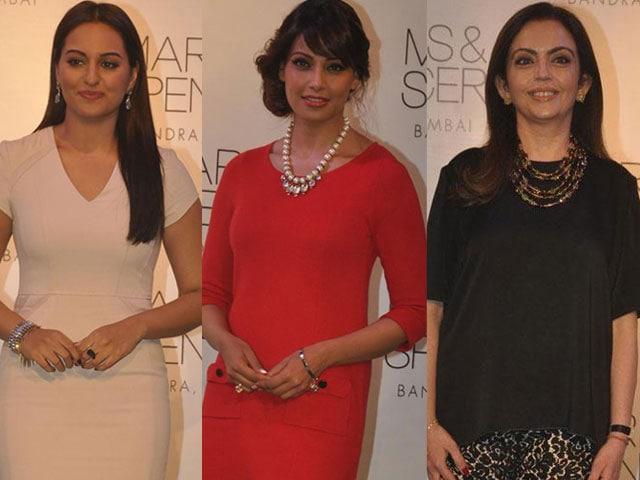 On your Marks: Sonakshi, Bipasha, Nita Ambani