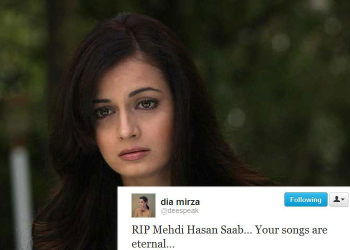 Celebs say goodbye to Mehdi Hassan on Twitter