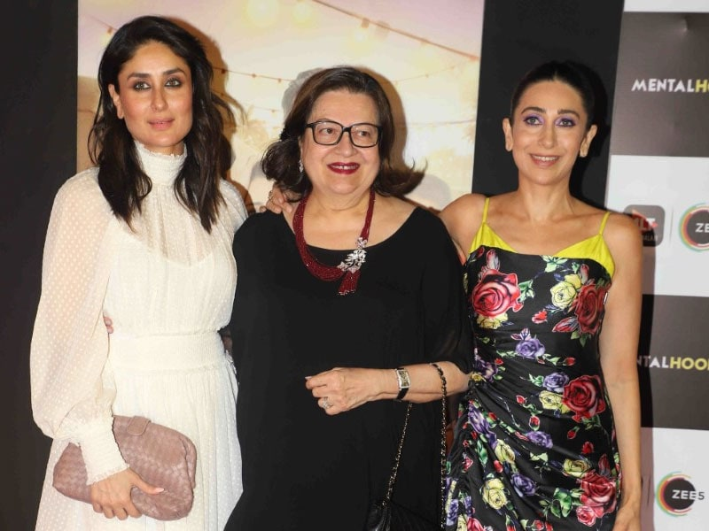 Kareena Kapoor And Mom Babita Join Karisma Kapoor For Mentalhood Screening