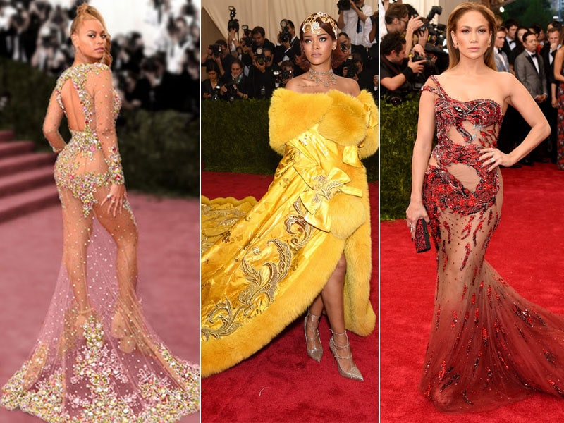 Big Stars, Bigger Dresses at the Met Gala: Beyonce, Rihanna, JLo