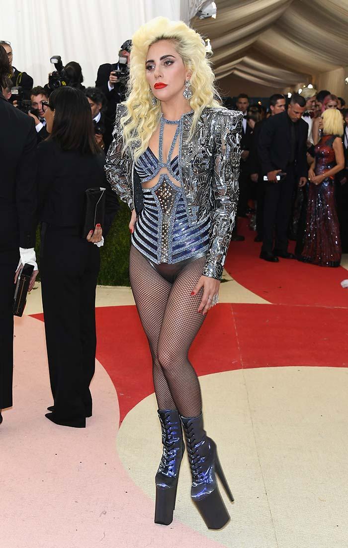 Fashion Alert Lady Gaga Beyonce On Met Gala Red Carpet