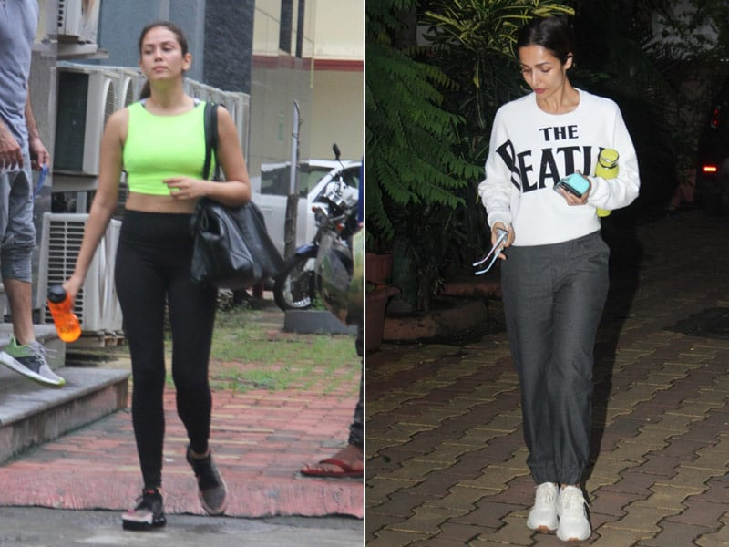 Mira Rajput And Malaika Arora's Fitness Diaries