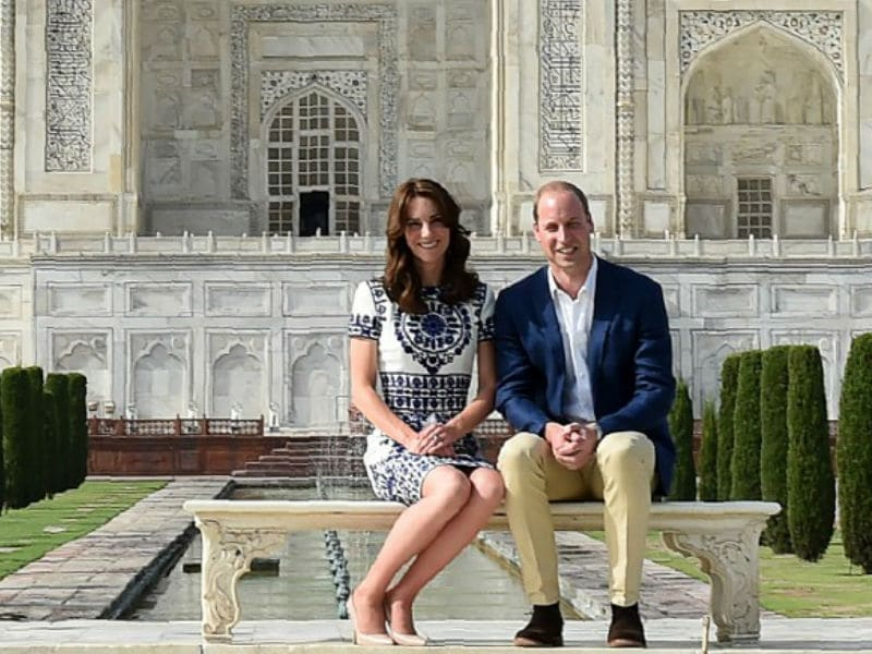 Kate Middleton's India-Bhutan Outfits in 16 Pics