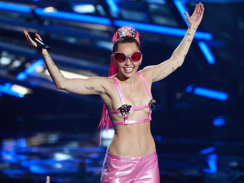 The 10 Outrageous Outfits Miley Cyrus Wore at the VMAs