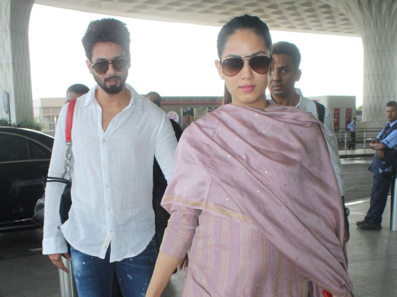 Couple Goals With Shahid Kapoor And Mira Rajput