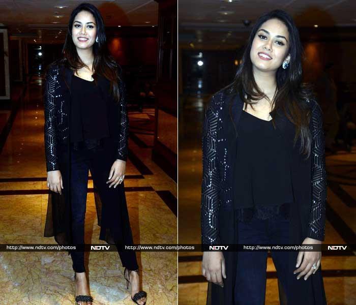 #WomensDay सेलिब्रेशन के दौरान ब्लैक ड्रेस में छाईं मीरा राजपूत