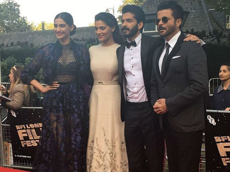 Harshvardhan, Sonam And Anil Kapoor Reach London With Mirzya
