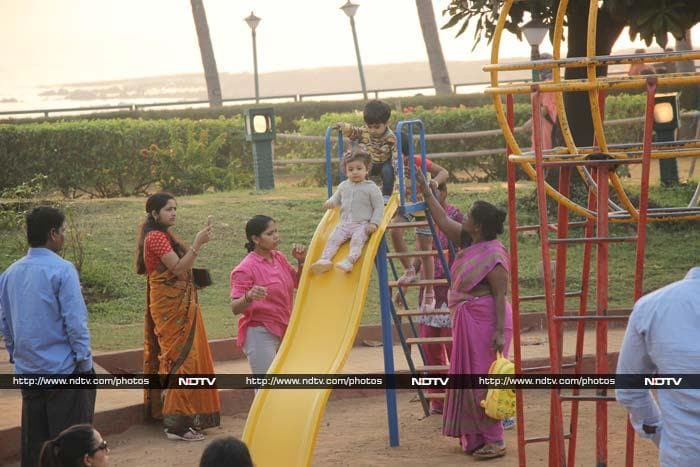 Misha\'s Play Date With Mom Mira
