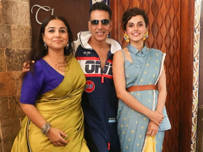 There's Never A Dull Moment With Akshay, Vidya, Taapsee