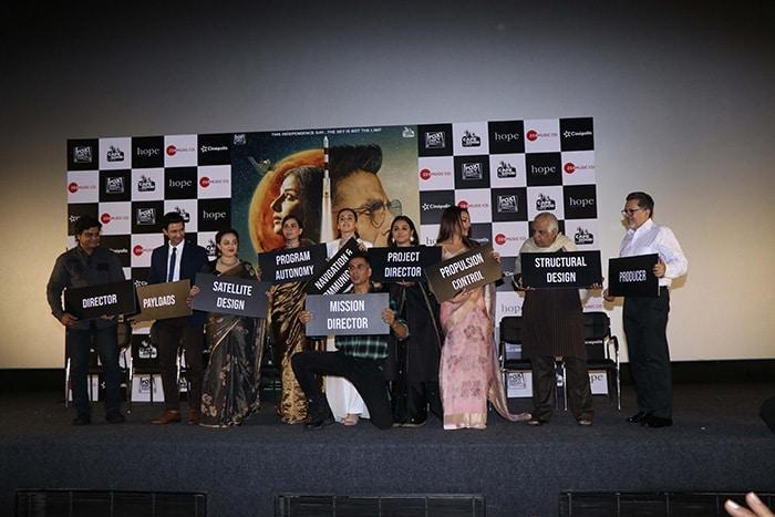 अक्षय कुमार की 'मिशन मंगल' का ट्रेलर लॉन्च, अनोखे अंदाज में नजर आए सितारे