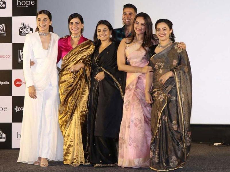 Akshay, Vidya, Taapsee And Sonakshi's Mission Mangal Trailer Launch Was A Success