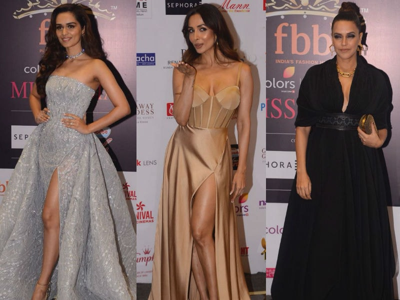 Miss India 2018 Finale Red Carpet: Manushi Chhillar, Malaika And Neha Dhupia Steal The Show