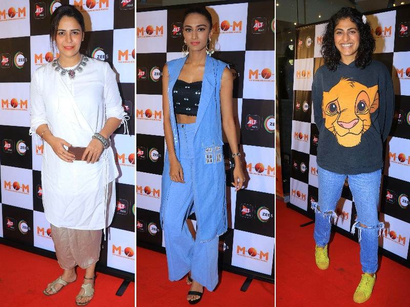 Mona Singh, Erica Fernandes, Kubbra Sait Take Time Out For Ekta Kapoor's M.O.M