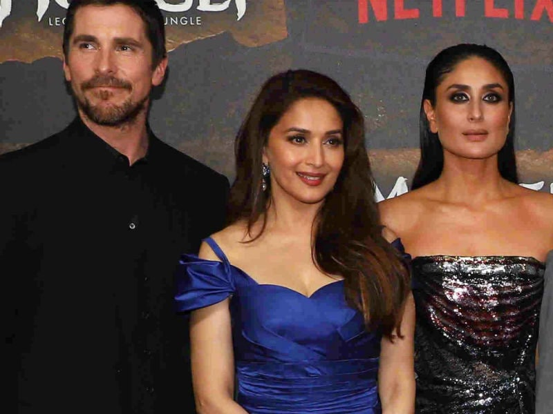 In The Filmy Jungle With Christian Bale, Kareena, Madhuri And Anil Kapoor