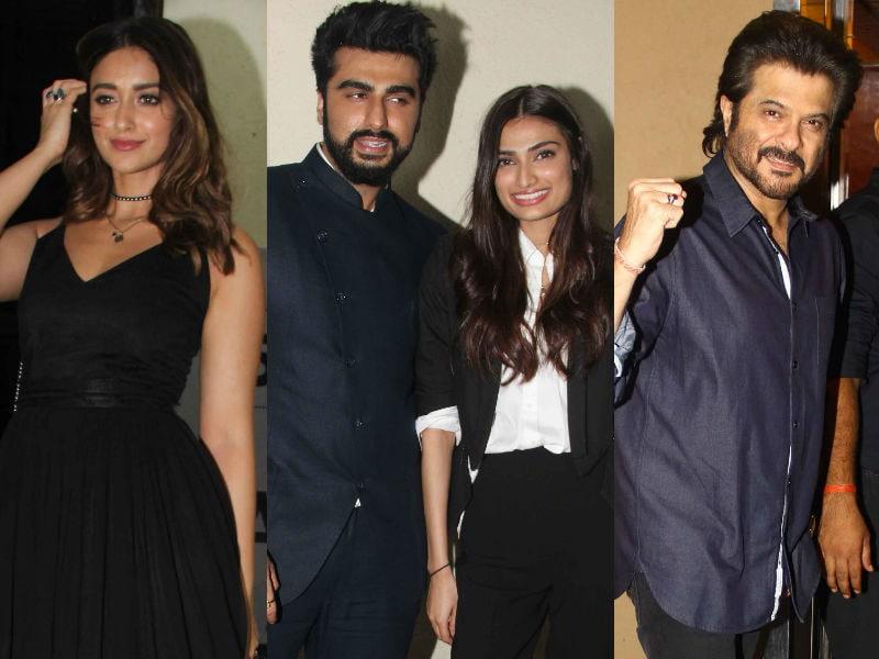 A Mubarakan Night With Ileana, Athiya And The Kapoors