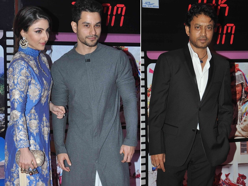 Soha, Kunal and Irrfan Attend Mufti Mohd Sayeed's Party