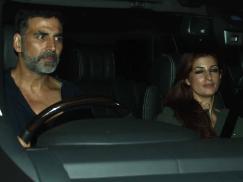 Akshay Drives Twinkle to One Party, the Mehras Head to Another