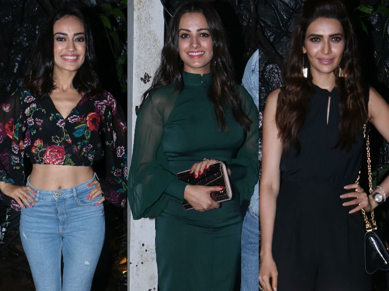 Naagins Of Small Screen Arrive For Pearl V Puri's Birthday Bash