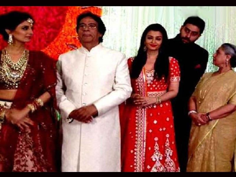 Bachchan Clan at Naina and Kunal Kapoor's Wedding Reception