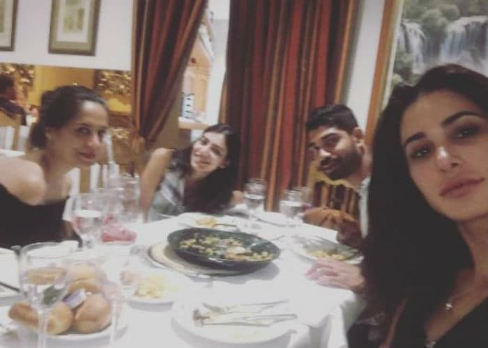 Spain Sojourn: Nargis Fakhri and Dia Mirza Are Clearly Smitten