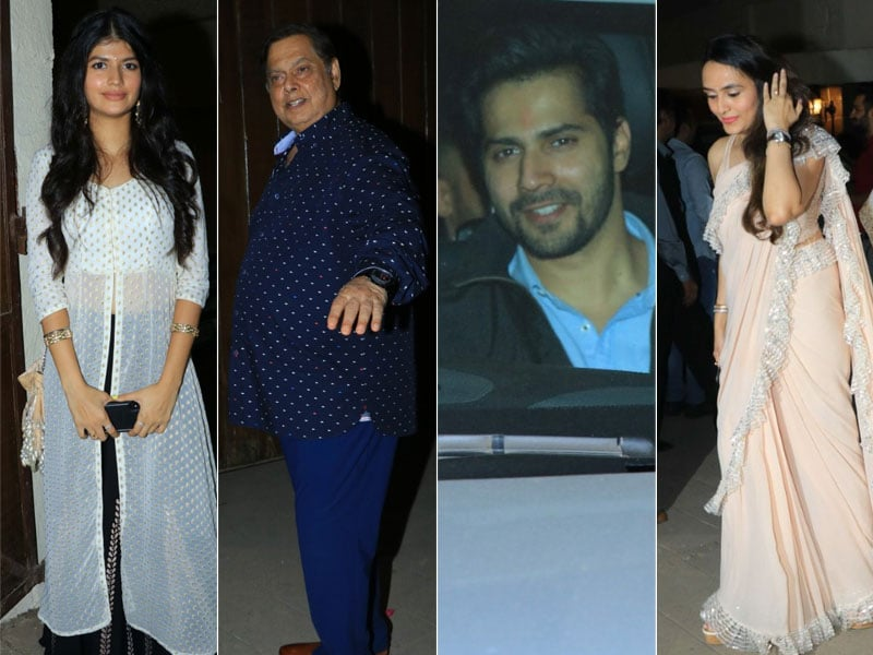 The Dhawans Celebrate Varun's Girlfriend Natasha Dalal's Dad's Birthday