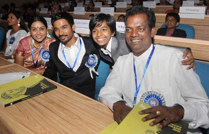 Big winners at 58th National Film Awards