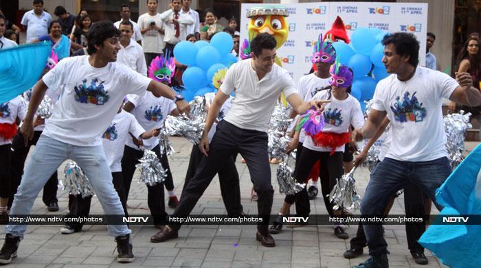Busy boys : Abhishek, Hrithik, Imran, Rajeev
