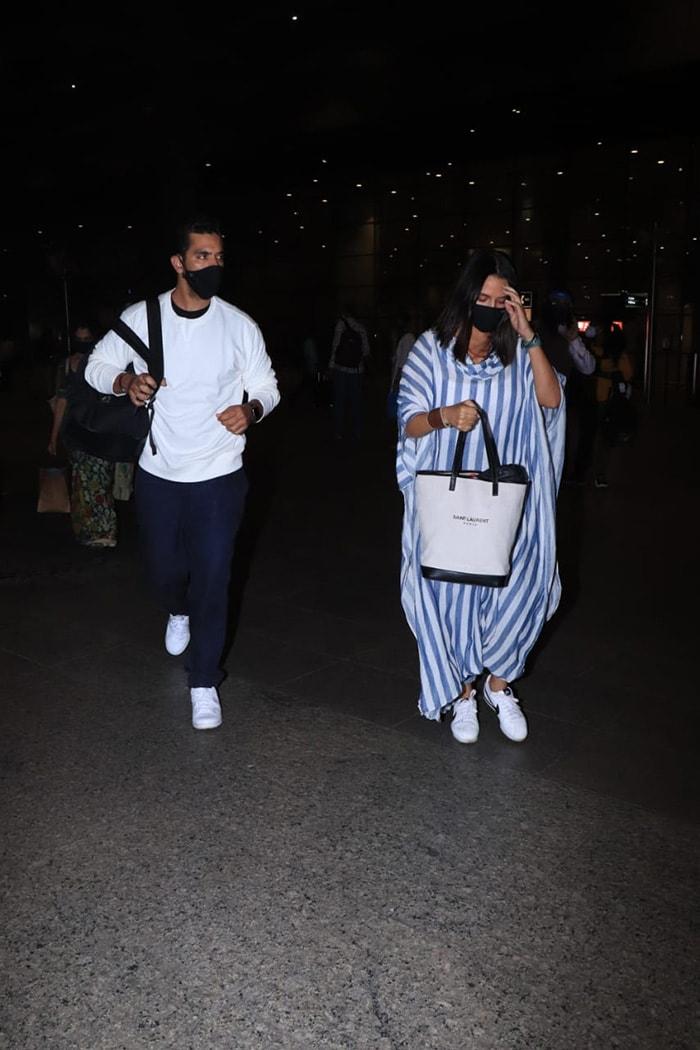 Neha Dhupia And Angad Bedi\'s Airport Diaries
