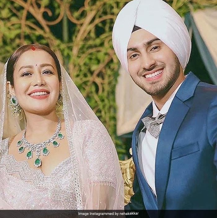 Stunning Pics From Neha Kakkar And Rohanpreet Singh\'s Fairytale Wedding