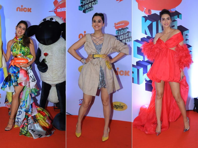 Sara Ali Khan, Taapsee Pannu And Kriti Sanon Made Nickelodeon Kids' Choice Awards A Night To Remember