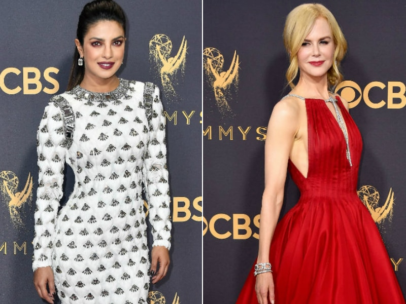 Emmys 2017: Nicole Kidman, Priyanka Chopra Rocked The Red Carpet