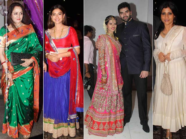 Star Studded Wedding Reception of Nikitin Dheer and Kratika Sengar