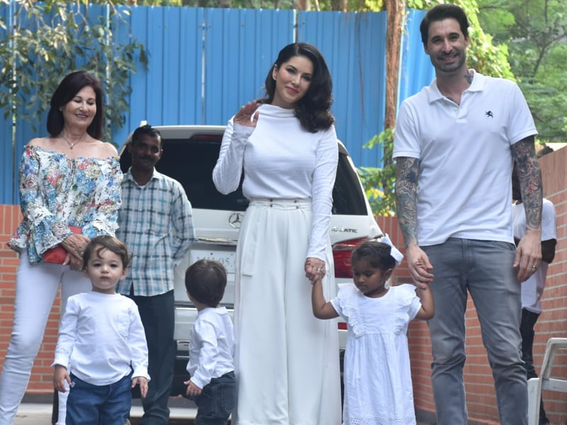 How Sunny Leone And Daniel Weber Celebrated Nisha's Birthday