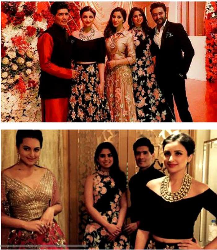 Inside Ambanis\' Party for Bhajji-Geeta: Sridevi, Dhonis, Parineeti