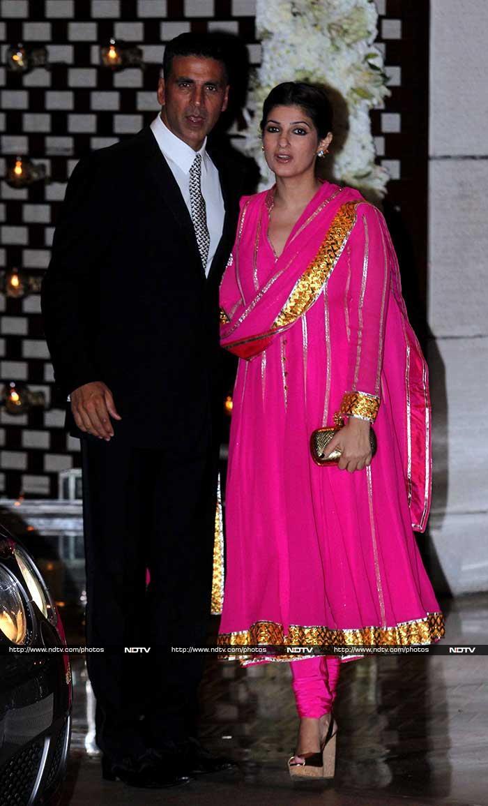Sridevi, Aishwarya, Shah Rukh at Nita Ambani\'s Party for Harbhajan, Geeta