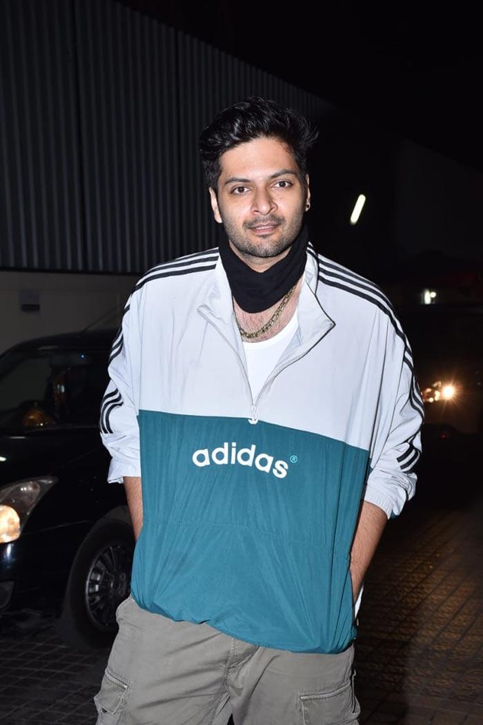Ali Fazal was also present at the event.