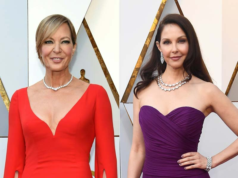 Oscars 2018: Allison Janney, Laurie Metcalf And Ashley Judd Lead Celeb Roll Call On Red Carpet
