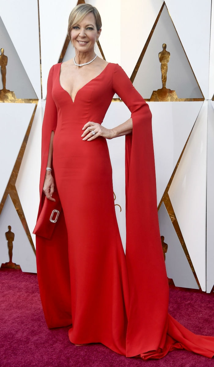 Oscars 2018: Allison Janney And Ashley Judd Lead Celeb Roll Call On Red Carpet