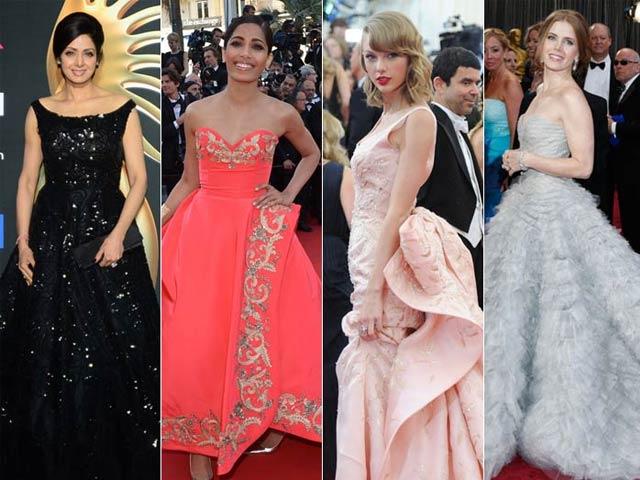 Our Favourite Oscar de la Renta Red Carpet Outfits