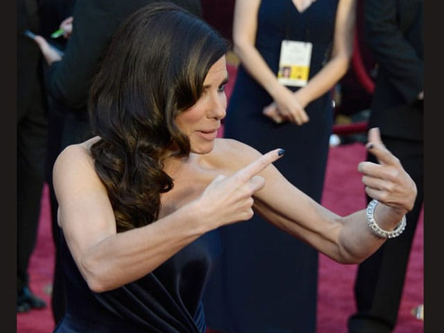 10 Awesome Oscar Faces (we see you, Sandra Bullock)