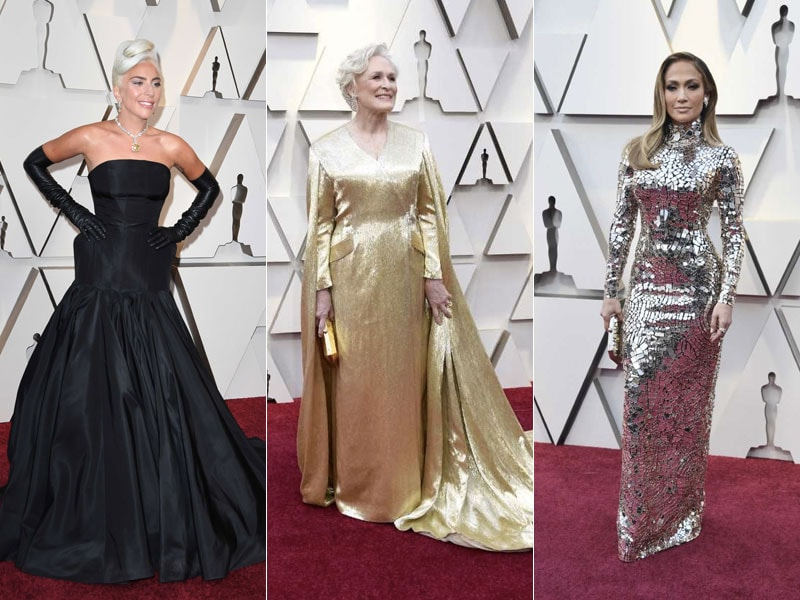 Oscars 2019: Lady Gaga, Glenn Close, Jennifer Lopez, Rachel Weisz And Emma Stone Lead Celeb Roll-Call