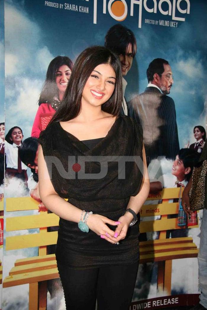 Shahid at the screening of Paathshaala